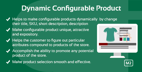 Dynamic Configurable Product Magento 2 Extension | Documentation
