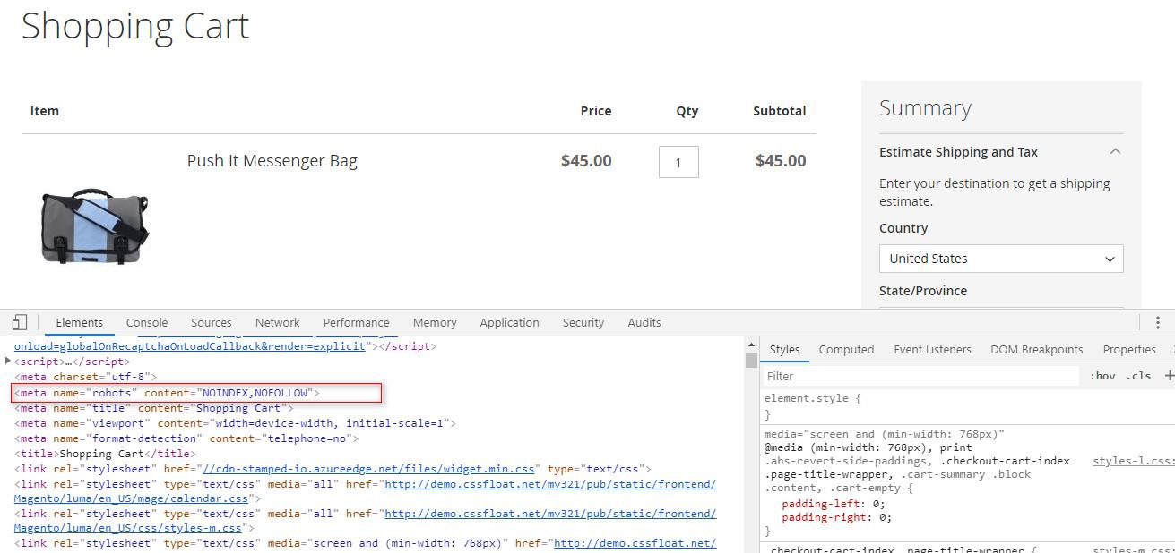 Custom URL Page